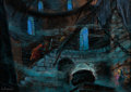 Animation Art:Concept Art, The Black Cauldron The Horned King Concept Art by Mel Shaw (Walt Disney, 1985)....