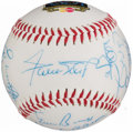 Autographs:Baseballs, MLB All Century Team Multi-Signed Baseball (17 Signatures).. ...