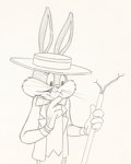 Animation Art:Production Drawing, The Bugs Bunny Show Animation Drawing (Warner Brothers,1960)....