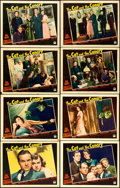 "Movie Posters:Horror, The Cat and the Canary (Paramount, 1939). Lobby Card Set of 8(Approx. 11"" X 14"").. ... (Total: 8 Items)"