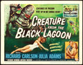 """Movie Posters:Horror, Creature from the Black Lagoon (Universal International, 1954).Title Lobby Card (11"""" X 14"""") Reynold Brown Artwork.. ..."""