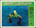 "Movie Posters:Horror, Creature from the Black Lagoon (Universal International, 1954).Lobby Card #8 (11"" X 14"").. ..."