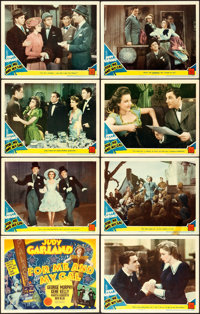"""For Me and My Gal (MGM, 1942). Lobby Card Set of 8 (11"""" X 14""""). ... (Total: 8 Items)"""