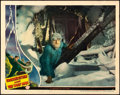 "Movie Posters:Horror, Frankenstein Meets the Wolf Man (Universal, 1943). Lobby Card (11""X 14"") Karl Godwin Artwork.. ..."