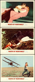 """Movie Posters:Hitchcock, North by Northwest (MGM, 1959). Lobby Cards (3) (11"""" X 14"""").. ...(Total: 3 Items)"""