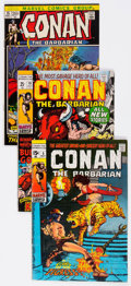 Bronze Age (1970-1979):Adventure, Conan the Barbarian Group of 13 (Marvel, 1971-73).... (Total: 13 Comic Books)