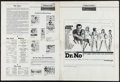 "Movie Posters:James Bond, Dr. No (United Artists, 1962). Uncut Pressbook (12 Pages, 13.25"" X 18""). James Bond.. ..."