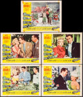 """Movie Posters:Comedy, Meet Me After the Show (20th Century Fox, 1951). Fine+. Lobby Cards (10) (11"""" X 14""""). Comedy.. ... (Total: 10 Items)"""