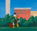 Animation Art:Color Model, The Wonderful World of Color Ludwig Von Drake Color Model Cel and Master Painted Background (Walt Disney, 1961)....