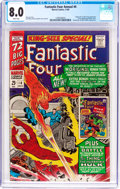 Silver Age (1956-1969):Superhero, Fantastic Four Annual #4 (Marvel, 1966) CGC VF 8.0 White pages....