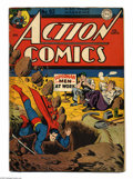 Golden Age (1938-1955):Superhero, Action Comics #92 (DC, 1946) Condition: GD. Jack Burnley cover. Fred Ray, Mort Meskin, Henry Boltinoff, and Stan Kaye art. C...