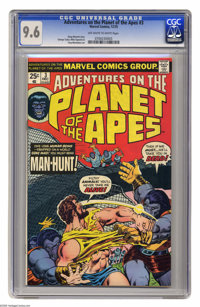 Adventures on the Planet of the Apes #3 (Marvel, 1975) CGC NM+ 9.6 Off-white to white pages. George Tuska, Mike Esposito...
