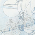Animation Art:Concept Art, Peter Pan Preliminary Drawing Art (Walt Disney, c. 1990s)....(Total: 2 Items)
