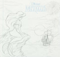 Animation Art:Concept Art, The Little Mermaid Preliminary Drawing Art (Walt Disney, c. 1990s).... (Total: 2 Items)