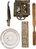 Military & Patriotic:Indian Wars, John Sivertsen: Personal Effects Found Near the Bones of His Horse. ... (Total: 5 Items)
