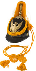 Military & Patriotic:Indian Wars, Model 1887 Cavalry Dress Helmet with 3rd Regiment Insignia....