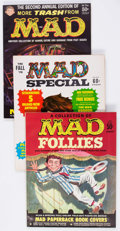 Magazines:Mad, MAD-Related Group of 13 (EC, 1959-69) Condition: Average VF....(Total: 13 Comic Books)