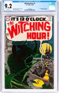 The Witching Hour #1 (DC, 1969) CGC NM- 9.2 White pages