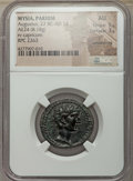 Ancients:Roman Provincial , Ancients: MYSIA. Parium. Augustus (27 BC-AD 14). AE24 (8.18 gm).NGC AU 5/5 - 3/5, smoothing....