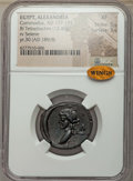 Ancients:Roman Provincial , Ancients: EGYPT. Alexandria. Commodus (AD 177-192). BI tetradrachm(12.46 gm). NGC XF 5/5 - 5/5....