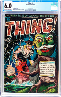 The Thing! #4 (Charlton, 1952) CGC FN 6.0 Off-white to white pages