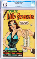 Golden Age (1938-1955):Romance, True Life Secrets #23 (Romantic Love Stories/Charlton, 1954) CGCFN/VF 7.0 Cream to off-white pages....