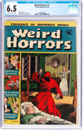 Golden Age (1938-1955):Horror, Weird Horrors #1 (St. John, 1952) CGC FN+ 6.5 Off-white to whitepages....