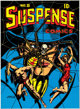 L.B. Cole Suspense Comics #8 Cover Reproduction (c. 1990s)