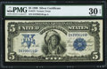 Large Size:Silver Certificates, Fr. 273 $5 1899 Silver Certificate PMG Very Fine 30 EPQ.. ...
