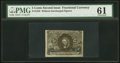 Fractional Currency:Second Issue, Fr. 1232 5¢ Second Issue Treasury Rectangle PMG Uncirculated 61.. ...