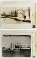 "Photography:Official Photos, Wright Flyer Photographs From the Culver Picture Service Archive. Agroup of six black-and-white prints measuring 8"" x 10"" o... (Total:6 )"