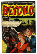 "Golden Age (1938-1955):Horror, The Beyond #15 Davis Crippen (""D"" Copy) pedigree (Ace, 1952)Condition: VF...."