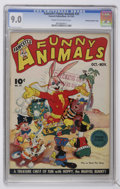 Golden Age (1938-1955):Funny Animal, Fawcett's Funny Animals #32 Crowley Copy/File Copy (Fawcett, 1945)CGC VF/NM 9.0 Cream to off-white pages....