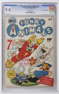 Golden Age (1938-1955):Funny Animal, Fawcett's Funny Animals #30 Crowley Copy/File Copy (Fawcett, 1945)CGC NM 9.4 Off-white pages....
