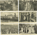 Miscellaneous:Ephemera, Six English Suffrage Postcards with Historical Themes. Each ofthese photo cards depict activists and events central to the ...(Total: 6 )
