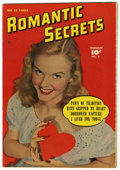 "Golden Age (1938-1955):Romance, Romantic Secrets #3 Davis Crippen (""D"" Copy) pedigree (Fawcett,1950) Condition: VF...."