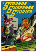 "Golden Age (1938-1955):Horror, Strange Suspense Stories #2 Davis Crippen (""D"" Copy) pedigree(Fawcett, 1952) Condition: VG/FN...."
