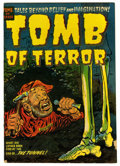 "Golden Age (1938-1955):Horror, Tomb of Terror #9 Davis Crippen (""D"" Copy) pedigree (Harvey, 1953)Condition: VG+...."