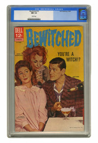 Bewitched #12 (Dell, 1968) CGC NM 9.4 White pages