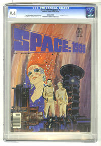 Space: 1999 #6 (Charlton, 1976) CGC NM 9.4 White pages