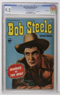 Golden Age (1938-1955):Western, Bob Steele Western #5 Crowley Copy pedigree (Fawcett, 1951) CGC NM- 9.2 Cream to off-white pages....