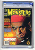"""Magazines:Horror, Famous Monsters of Filmland #230 (Warren, 2000) CGC NM+ 9.6 White pages. """"The Mummy"""" filmbook. """"Last Man on Earth"""" synopsis ..."""