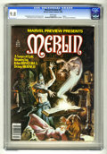 Magazines:Miscellaneous, Marvel Preview #22 (Marvel, 1980) CGC NM/MT 9.8 White pages. ...