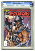 Magazines:Superhero, Savage Sword of Conan #102 (Marvel, 1984) CGC NM/MT 9.8 Whitepages. Bill Sienkiewicz cover. Gary Kwapisz and Ernie Chan art...