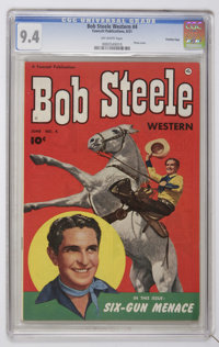 Bob Steele Western #4 Crowley Copy pedigree (Fawcett, 1951) CGC NM 9.4 Off-white pages