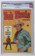 Golden Age (1938-1955):Western, Bob Steele Western #3 Crowley Copy pedigree (Fawcett, 1951) CGC NM 9.4 Off-white pages....