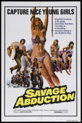 "Movie Posters:Thriller, Savage Abduction (Troma Films, 1973). One Sheet (27"" X 41""). Thriller. Starring Joe Turkel, Steve Oliver, Sean Kenney and Ki..."