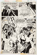 Original Comic Art:Panel Pages, Gene Colan and Tom Palmer Tomb of Dracula #63 Page 31Original Art (Marvel, 1978)....