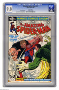 The Amazing Spider-Man #217 (Marvel, 1981) CGC NM/MT 9.8 White pages. John Romita Jr. and Al Milgrom cover. Romita Jr. a...