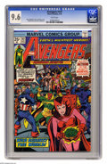 Avengers #147 (Marvel, 1976) CGC NM+ 9.6 White pages. Jack Kirby cover. George Perez and Vince Colletta art. Overstreet...